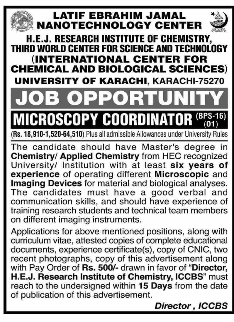 University of Karachi UOK Karachi University Jobs 2021